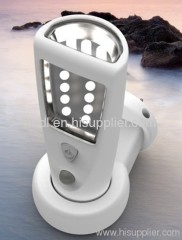 Rechargeable induction lamp