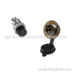 8P cable plug and socket