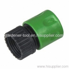 "Plastic 3/4"" female thread quick connector"