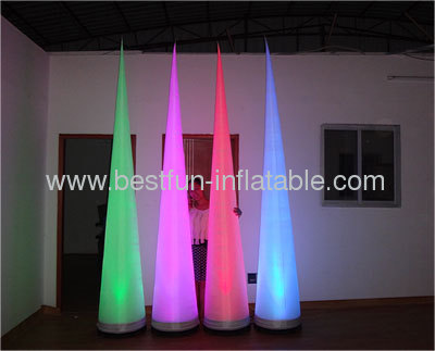 Air By Bedouin Inflatable Light Cones