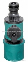 Plastic garden water flower regulator with valve