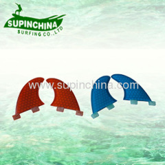 Fibrelgass honeycomb FCS fin for surf board