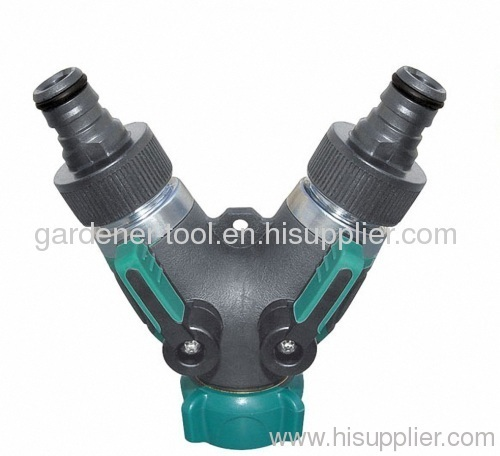 Zinc Y water hose coupling