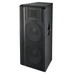 "15"" Dual Woofer Painted Wooden Professional Speaker Box"
