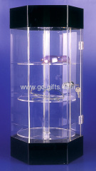 Countertop lockable acrylic display stands