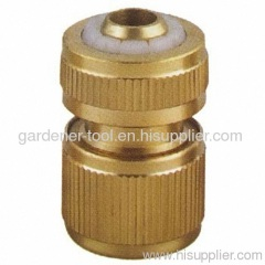 "brass1/2"" hose pipe quick connector"