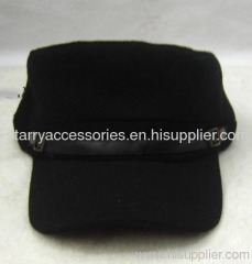 Polyester stock army hat