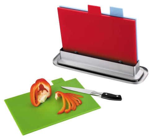easy washed cutting board with water pan