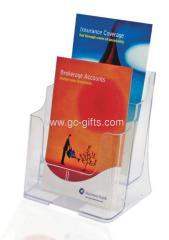 plastic A5 2-tier phamlet holders