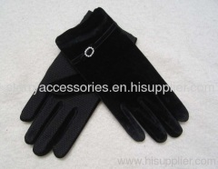 95%polyester5%spandex glove