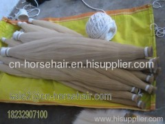 32cinch horse tail hair for violin bow
