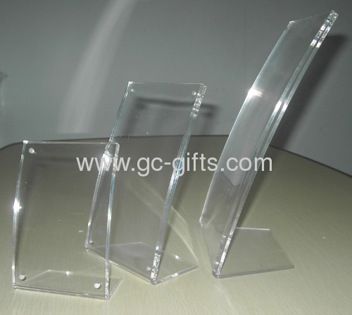 Curved Acrylic Picture Frames From China Manufacturer Shenzhen