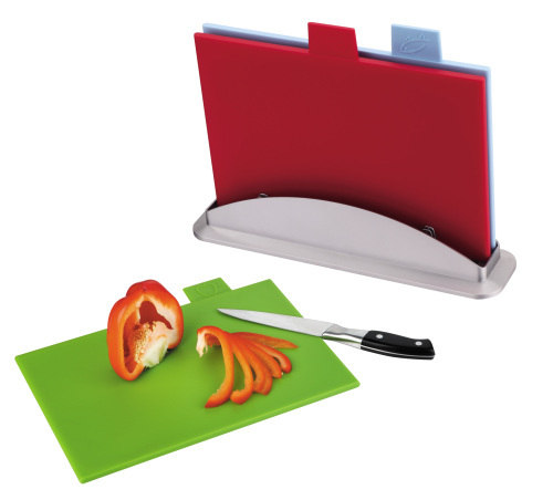 color coded cutting board chopping board