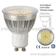 gu10 led light 60smd