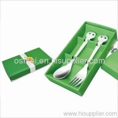 Set of 2 big head-Fork Spoon