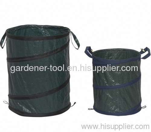 PE/PVC/Oxford POP-UP garden Bag For Moving Leaves