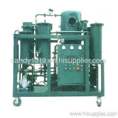 Series TYA vacuum engine oil purifier
