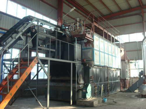 SZL low pressure automatic grate biomass boiler