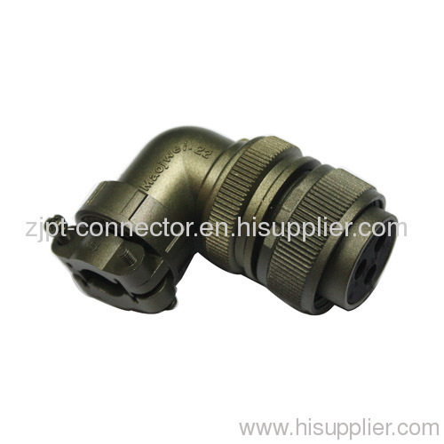 3108A 90 degree female and male plug