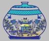 Custom Professional Embroidery Digitizing Logo on Cotton, 13cm*11cm, More Colors