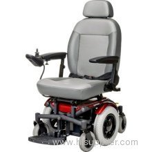 "Shoprider 6 Runner Power Chair with 14"" Wheel in Red"
