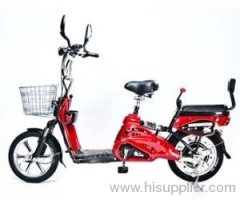 Motor Electric Bicycle x 2Adult Seats+pedal+battery 20 Mile (Model: Class2) Red by Green Power ebike