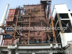 corner tube power station biomass boiler