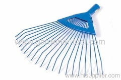 Garden Lawn Grass Fan Rake With 20 Teeth