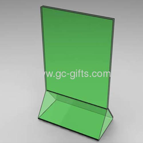 Green Acrylic Restaurant Table Tents From China Manufacturer - Restaurant table sign holders