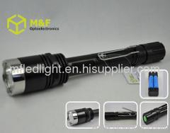 portable Aluminum cree xml t6 led flashlight