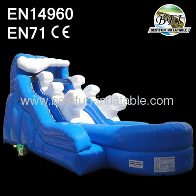 Inflatable Water Riptide Slide