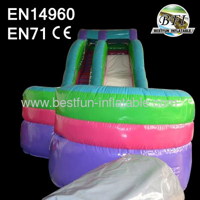 Colorful Inflatable Ripcurl Slide