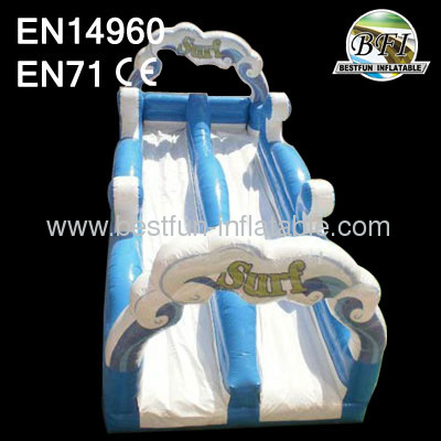 Sea Wave Inflatable Slip Slide