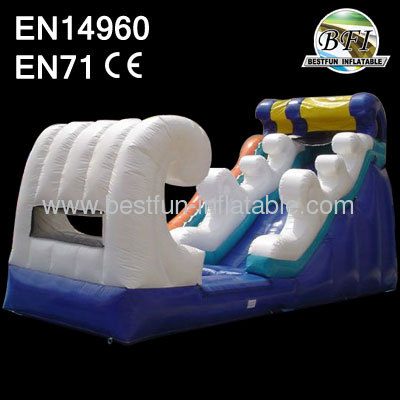 Inflatable Wet/Dry Slide