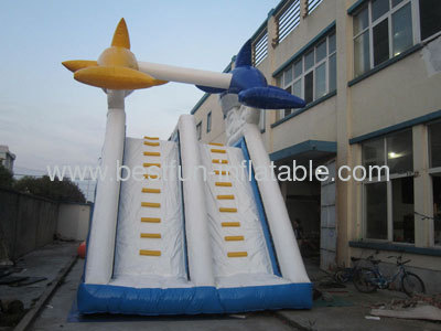 Dolphin Water Slide With/Without Pool