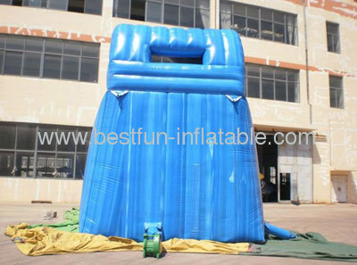 Single Lane Commercial Inflatable Kahuna Slides