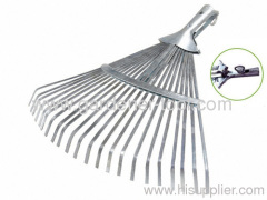 22 Teeth Metal grass handle rake