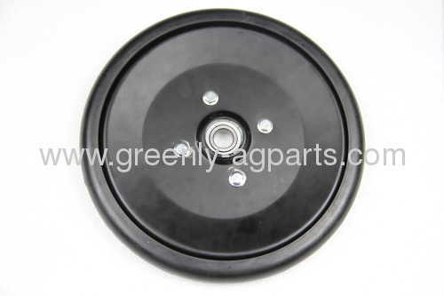 "AA38447 AN280966 AN281359 1"" x 10"" seed press wheel assembly with bearing for John Deere drills"