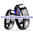 Black Tungsten Wedding Ring