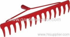 14T Outdoor Metal Dry Grass Rake
