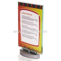 Hot sale rotary tabletop menu stands