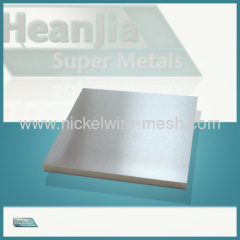 Nickel Sheet Nickel 200 Sheet Strip Plate