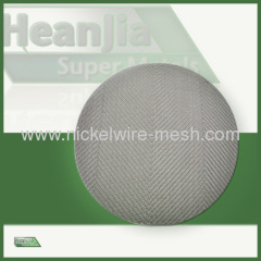 Incoloy 800 wire Mesh Screen