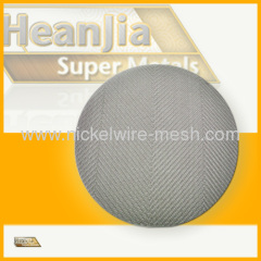Nickel Chromium alloy Cr20Ni40 Wire Mesh