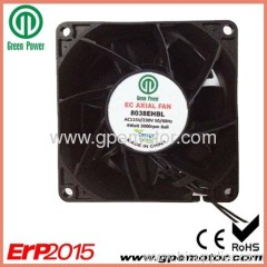 8038 Industrial outdoor telecom cabinet EC cooling Fan