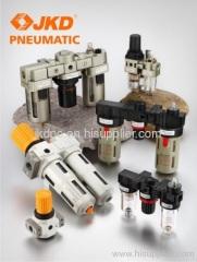 Pneumatic air source treatment