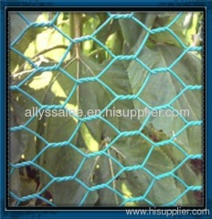 galvanized and PVC coated hexagonal wire mesh