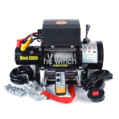 4x4 recovery winch for off road