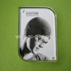 Small sized acrylic photo frames with magnets