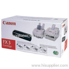 Canon Fx-3 Black Original Toner Cartridge